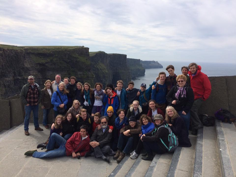 2015/2016 Young Tradition Touring Group in Ireland