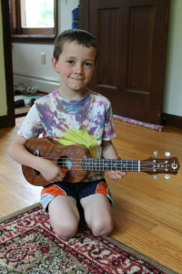 a boy and his uke