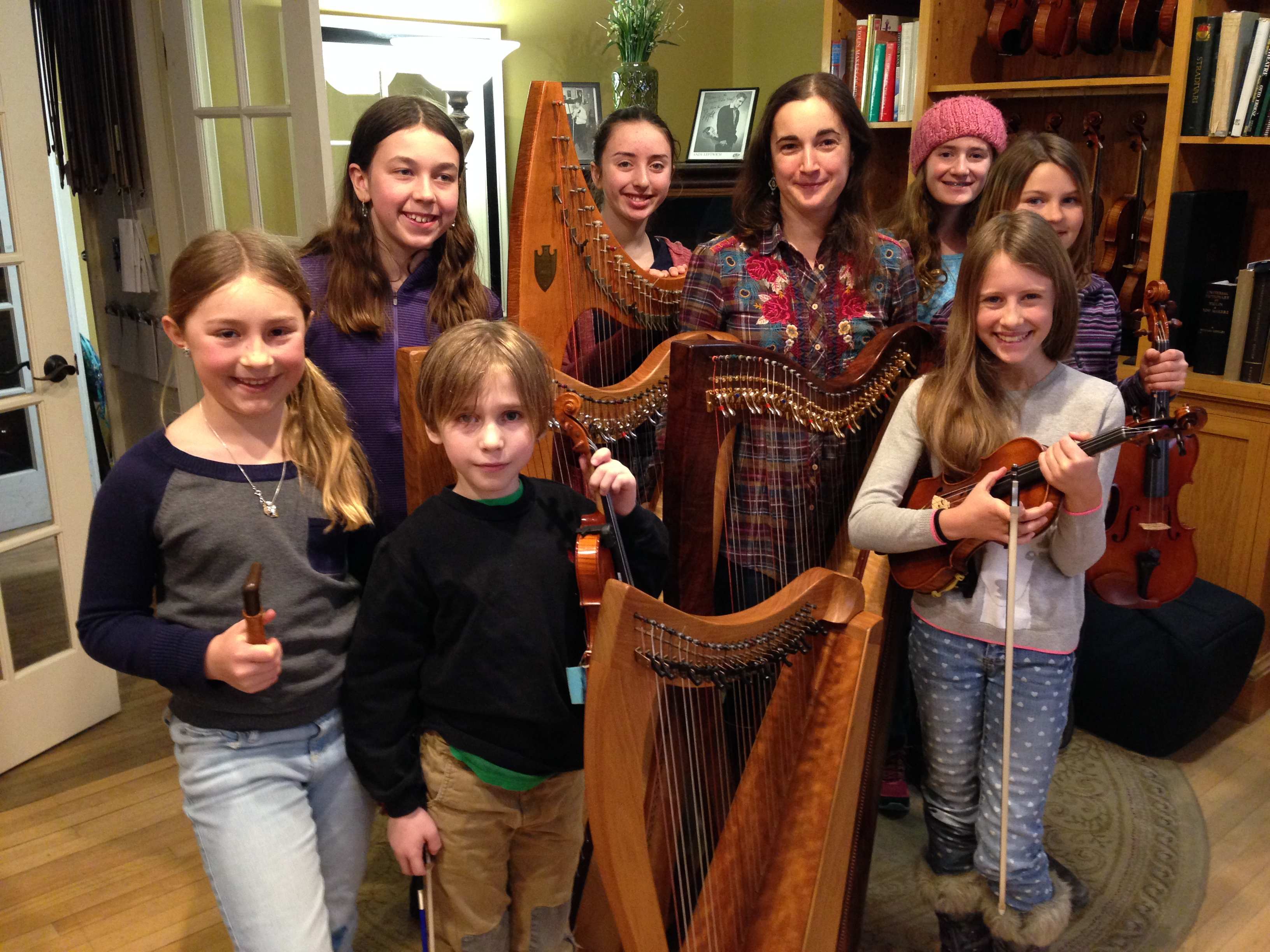 Young Tradition Vermont Fiddles & Harps with Dominique Dodge